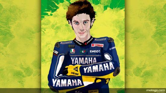 Rossi reúne admiradores espalhados por todo o planeta