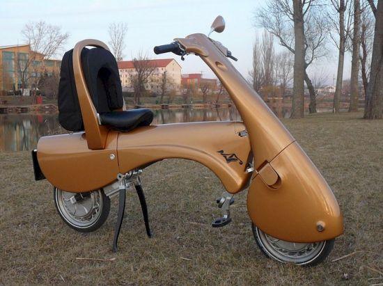 Moveo, scooter elétrico de fabricação húngara