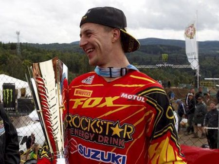 Clement Desalle, atual líder da MX1 no Mundial de Motocross