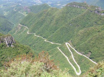 A Serra do Rio do Rastro será o destino do 1º Ducati Dream Tour Brasil