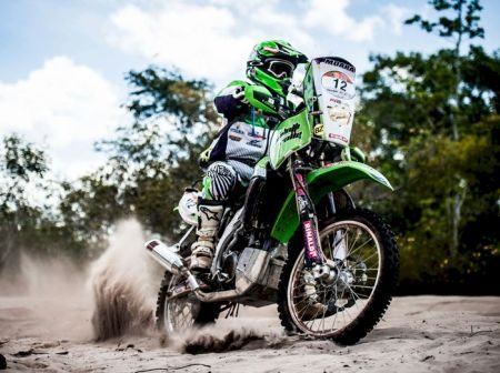 Concluido levantamento aéreo do percurso para as motos no Rally dos Sertões 2013