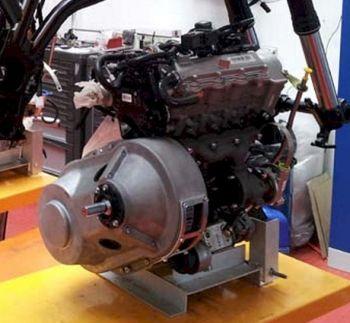 Motor turbo diesel com 3 cilindros em linha