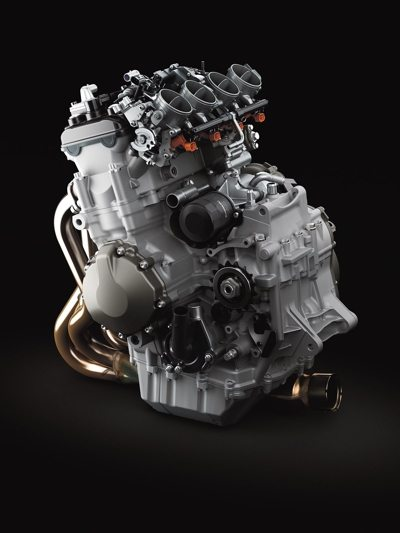 Motor teve o curso do pistão aumentado - mais potência e torque