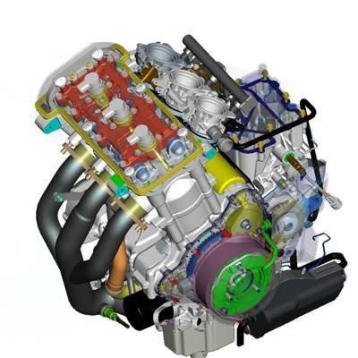 Motor da Tiger 800XC tem três cilindros - Favorece potência com dimensões controladas