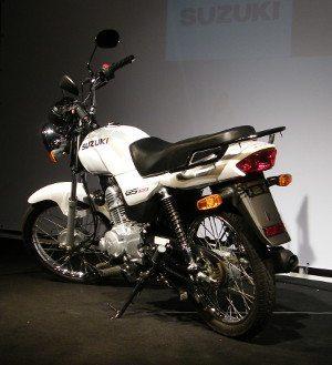 Com a GS 120 a Suzuki direciona suas baterias para a base do mercado brasileiro