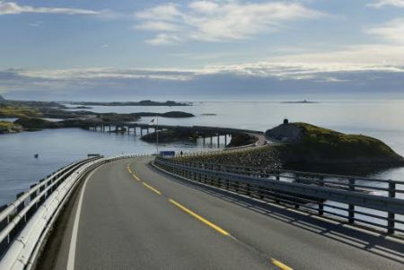 """Sequência de pontes """"pulando"""" de ilha em ilha"""