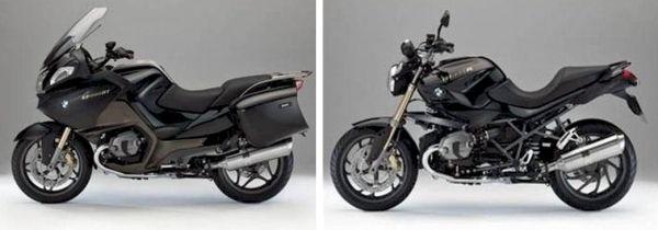 BMW R 1200 RT e BMW R 1200 R - edições especiais 90 anos