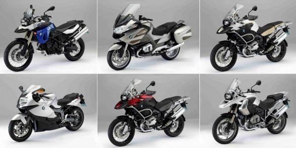 Modelos atuais da BMW