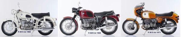 O desenho das motos começa a se modernizar, adotando cores diferentes do preto