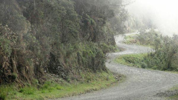 Quem já passou por La Carretera de La Muerte afirma que para qualquer canto que se olhe há uma imagem de tirar o fôlego - by André Luiz Pereira