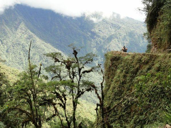 La Carretera de La Muerte, Bolívia - foto de André Luiz Pereira