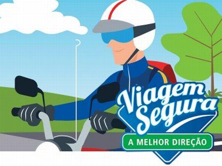 Programa Viagem Segura – A melhor direção - Motociclista, promovido pela CCR AutoBAn