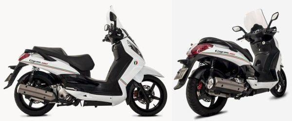 Dafra lança kit de adesivos para Citycom 300 em homenagem à Itália, a terra do scooter