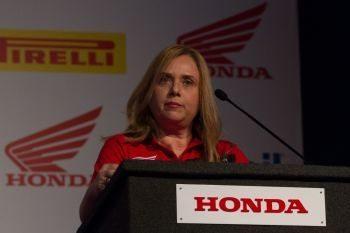 Claudia Canazza, gerente de marketing da Moto Honda da Amazônia