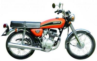 A CG 125 de 1976 será uma das motos históricas expostas na inauguração do Honda Fan Club