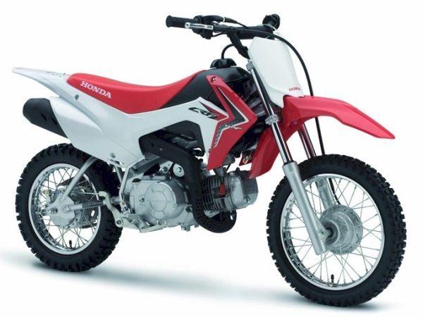 A Honda CRF 110F chega para integrar a linha kids da montadora