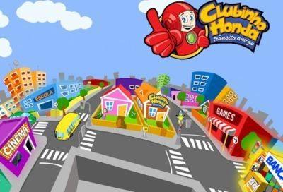 Site do Clubinho Honda e Cidade Mirim