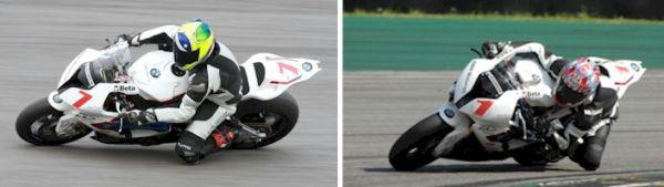 Alexandre Barros e Luciano Ribodino fazem dobradinha no Moto 1000 GP