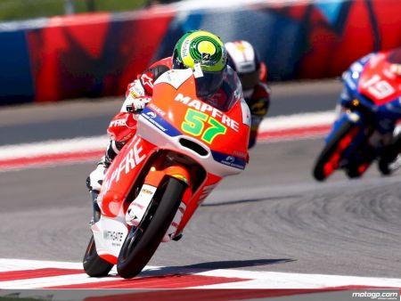 Eric Granado na Moto3 do Campeonato Mundial de Motovelocidade
