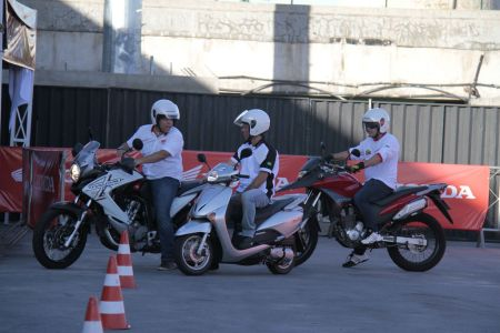 Test drive de motos Honda no Nordeste MotorShow