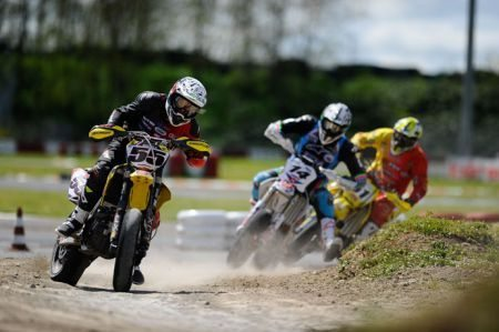 Fred Guerin lidera a categoria ES2 do Mundial de Supermoto
