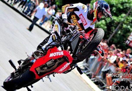 Lucas Jorge, o Luquinha é destaque na abertura do Campeonato Brasileiro de Stunt