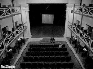 Visão interna do Teatro Ribeira dos Icós.