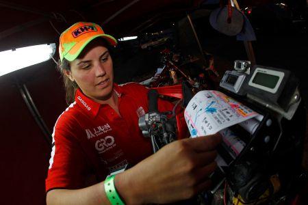 Laia Sanz, piloto multicampeã da Gas Gas Racing Team