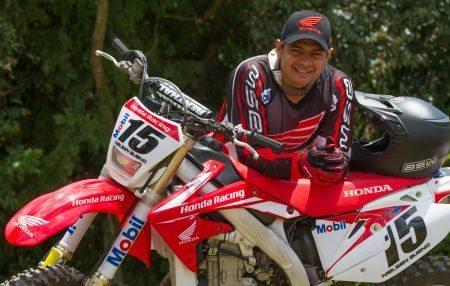 Nielsen Bueno, piloto da Equipe Honda Mobil de Rally