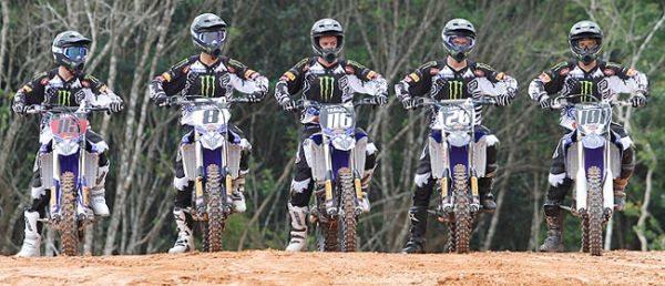 Equipe Yamaha Grupo Geração Monster Energy