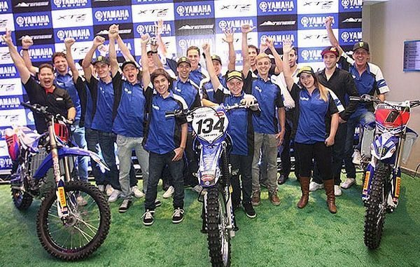 Yamaha Grupo Geração contará com pilotos no motocross, rally e enduro