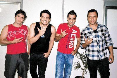 Banda Faixa Etária faz os principais shows em Penedo e Cabo Frio
