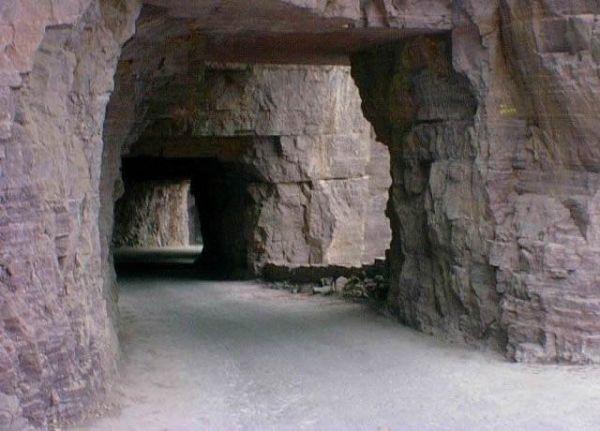 Túnel de Guoliang, na China