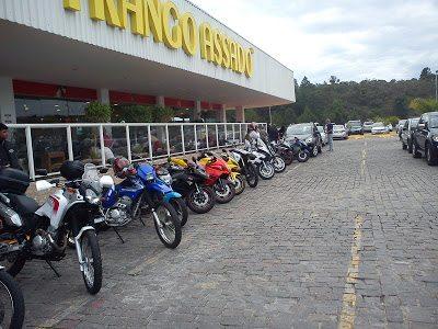 Posto Frango Assado: ponto de encontro de motociclistas