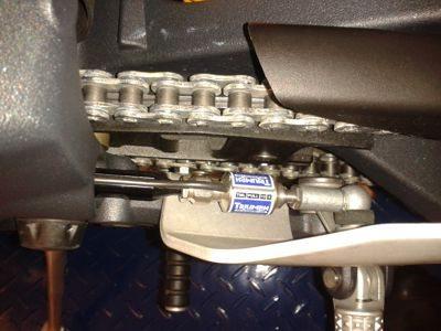 quick-shifter é item de série na Daytona 675