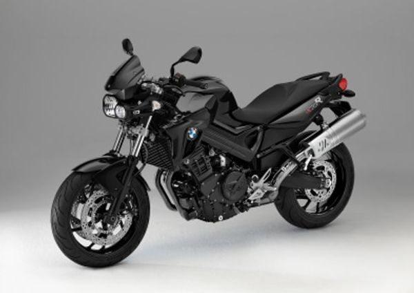 Nova BMW F 800 Preta