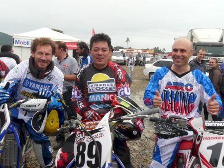 Jorge Negretti, Eduardo Saçaki e Nuno Marezzi