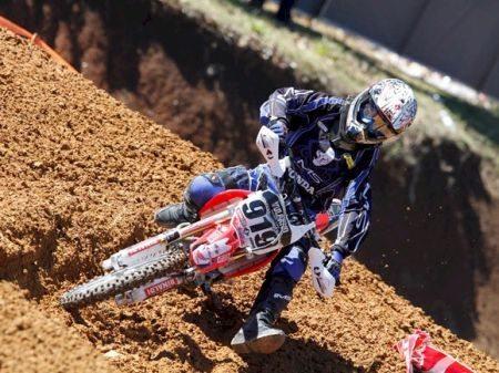 Gabriel Della Flora é o líder da Categoria Júnior no Gaúcho de Motocross