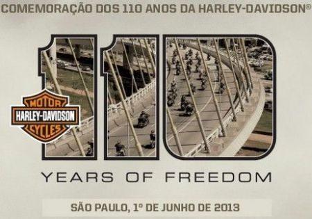 Harley Davidson 110 anos