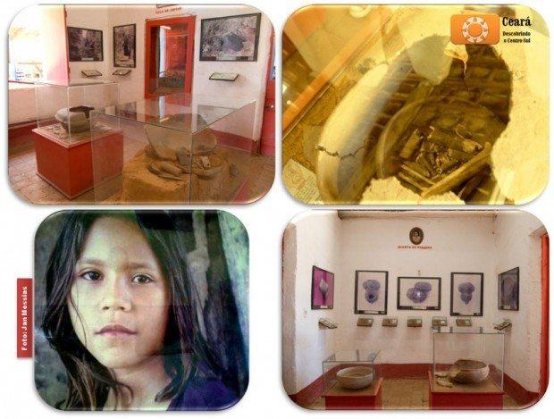 Acervo do Museu do Homem Kariri mostra uma civilização que dominava o fogo e construia suas próprias ferramentas