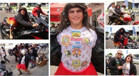 Silva Santos e Jadilene de Iguatu Motociclista Extravirgem animaram os presentes