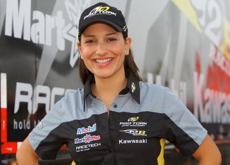 Mesmo com problemas musculares, Mariana Balbi chegou na sétina colocação