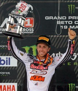 Antonio Cairoli, vencedor da MX1