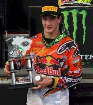 Jeffrey Herlings, vencedor da MX2