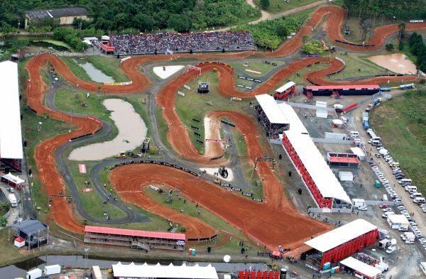Estrutura do Honda GP Brasil de Motocross - foto de divulgação VipComm