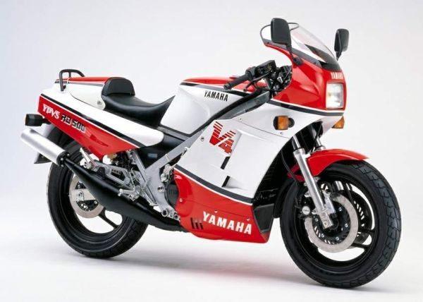 Yamaha RD 500LC, fabricada apenas entre 1984 e 1986
