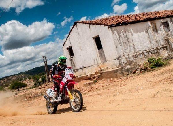 Jean Azevedo vai disputar o Rally Velho Chico a bordo da Honda CRF 450X