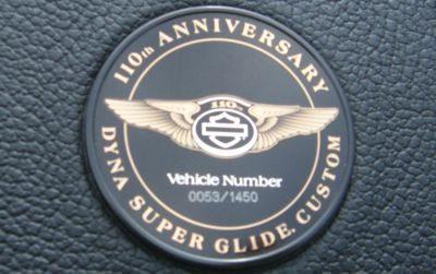 Série limitada vem com registro do número de série da moto. Serão fabricadas 1450 motos, cada uma com sua placa identificadora