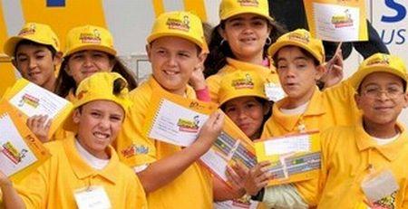 Desde a sua criação em 2002, cerca de 1,5 milhão de crianças participaram das atividades do Programa Estrada Para a Cidadania