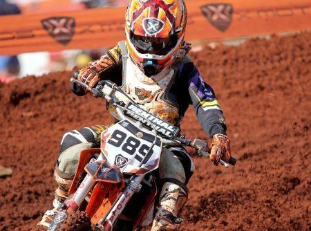 Léo Nunes, líder do Campeonato Brasileiro de Motocross